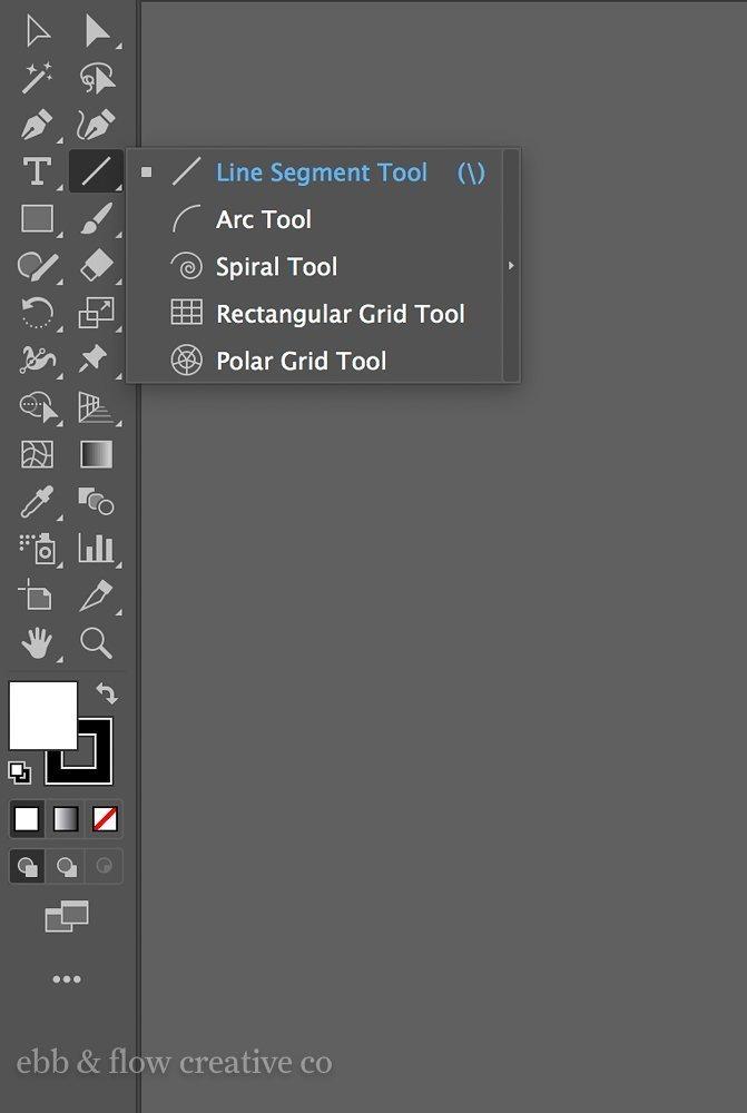 rectangular grid tool in illustrator