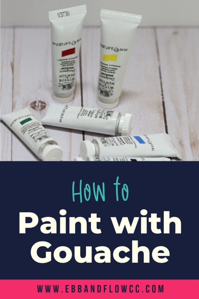 how to paint with gouache