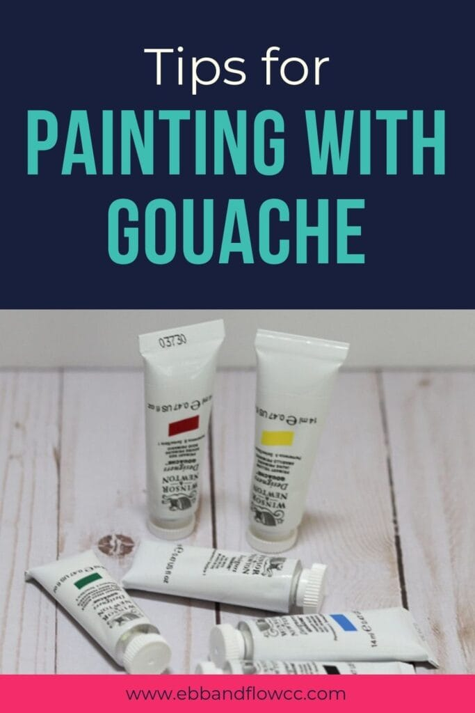 tips for painting with gouache