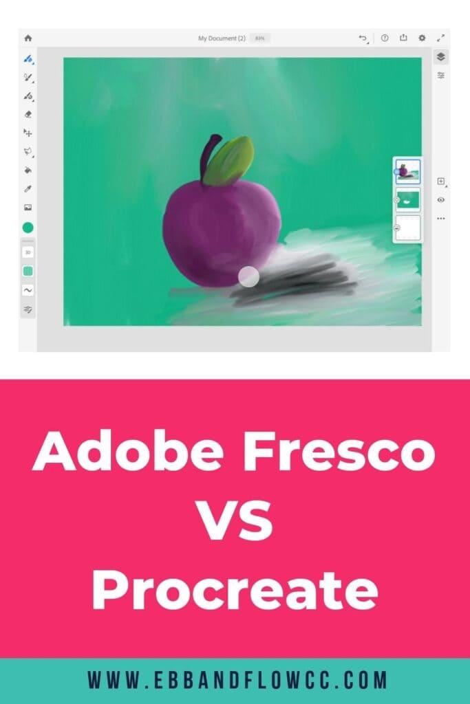 adobe fresco vs procreate