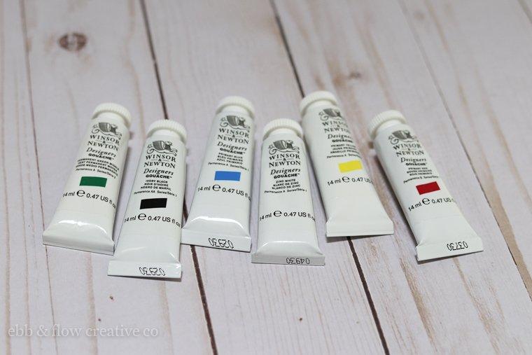 gouache paint for beginners