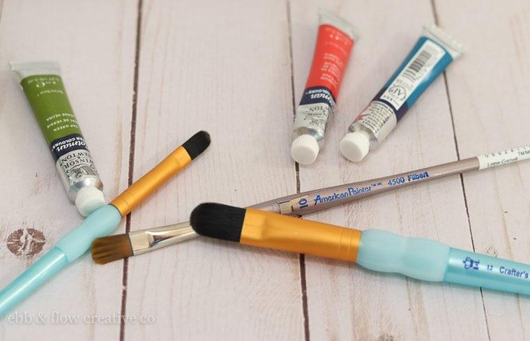 filbert brushes for watercolor