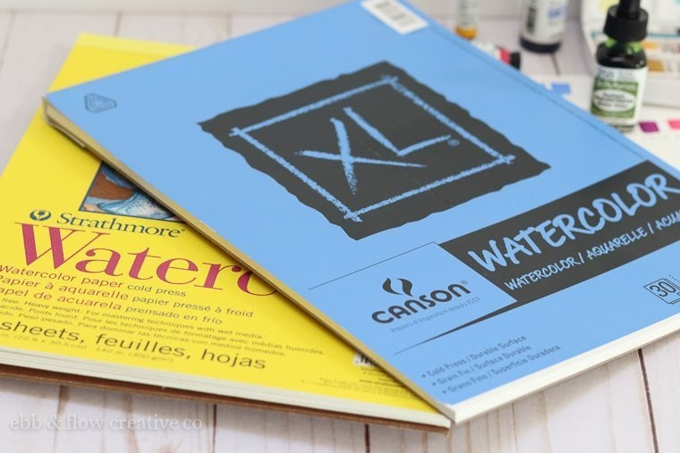 watercolor papers