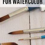 pin image - watercolor brushes