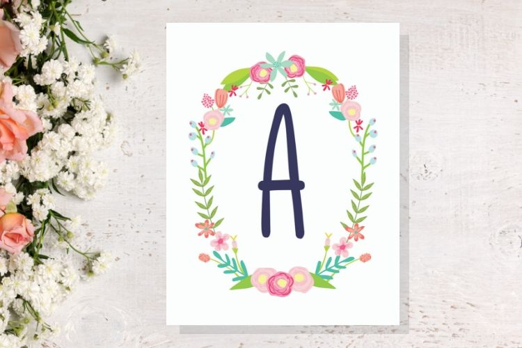 free letter printable