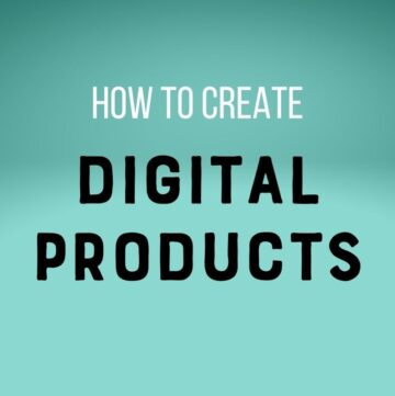 text: how to create digital products