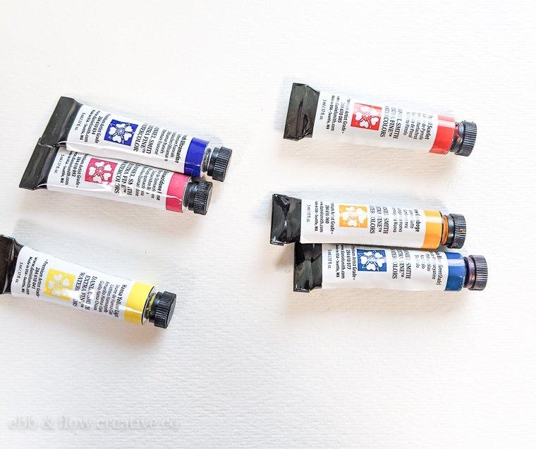 daniel smith watercolor tubes