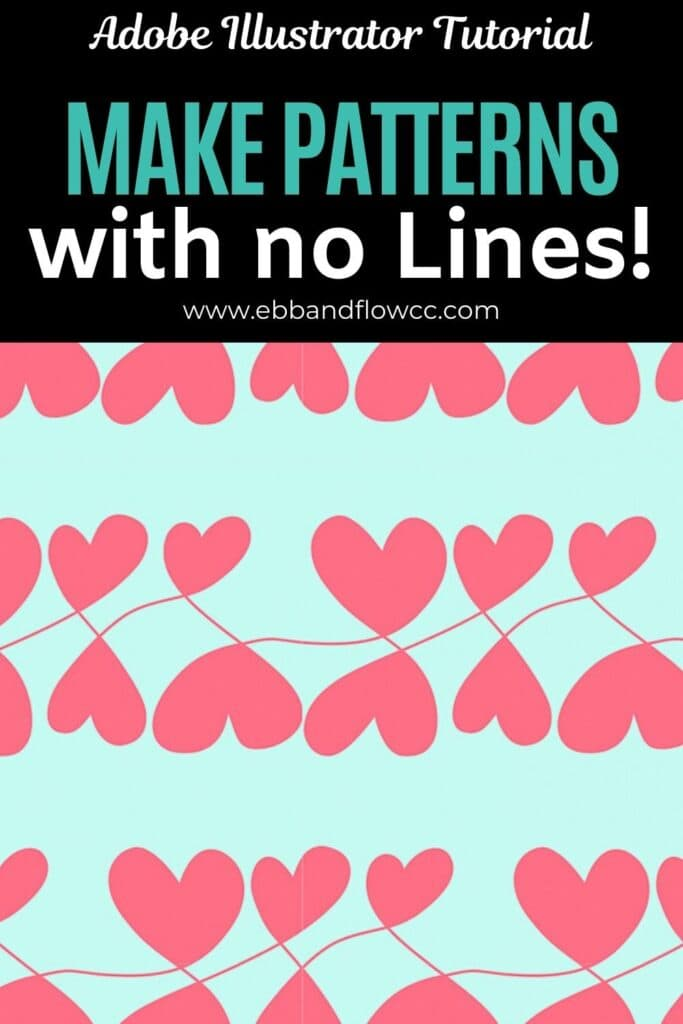make patterns without lines