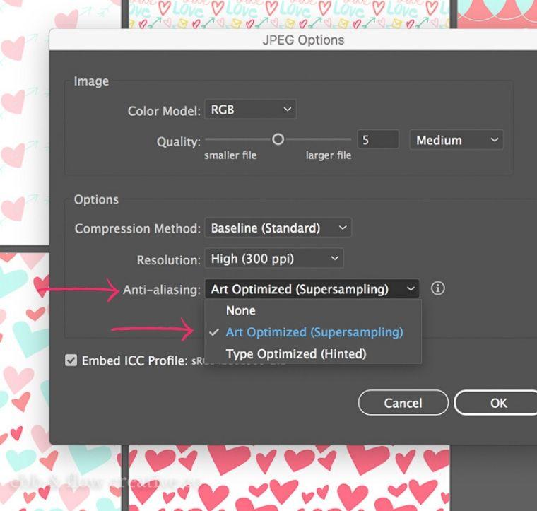 turn off anti-aliasing in illustrator