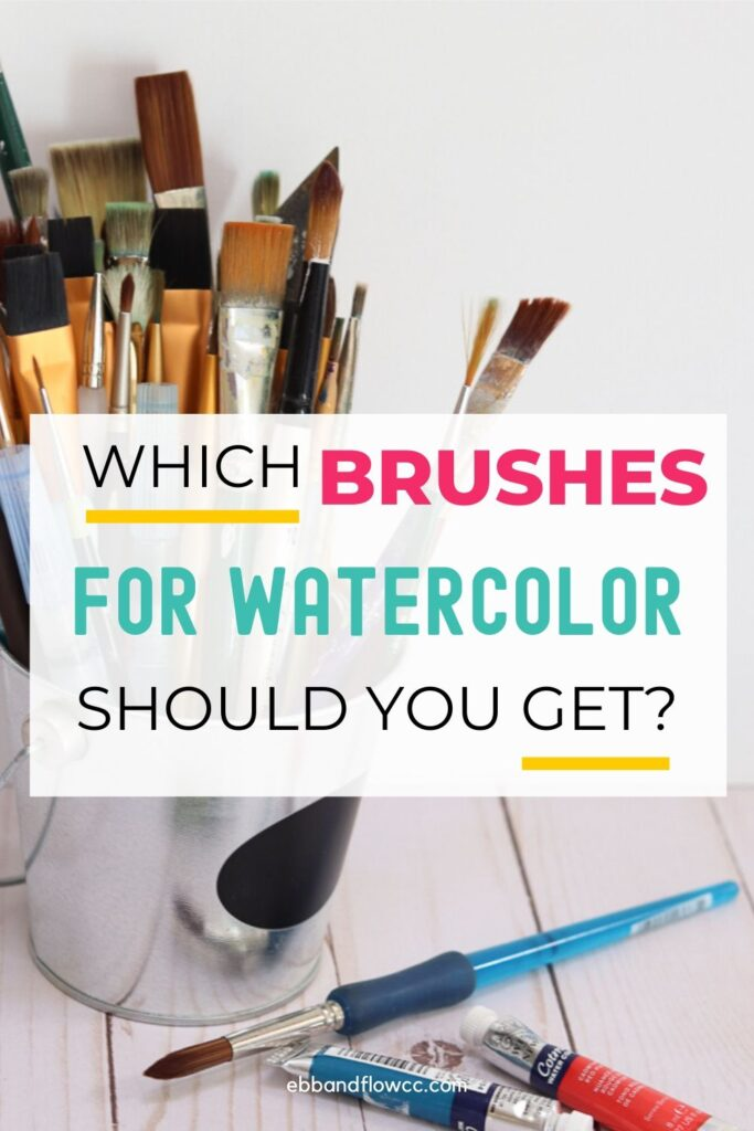 watercolor brushes for beginners