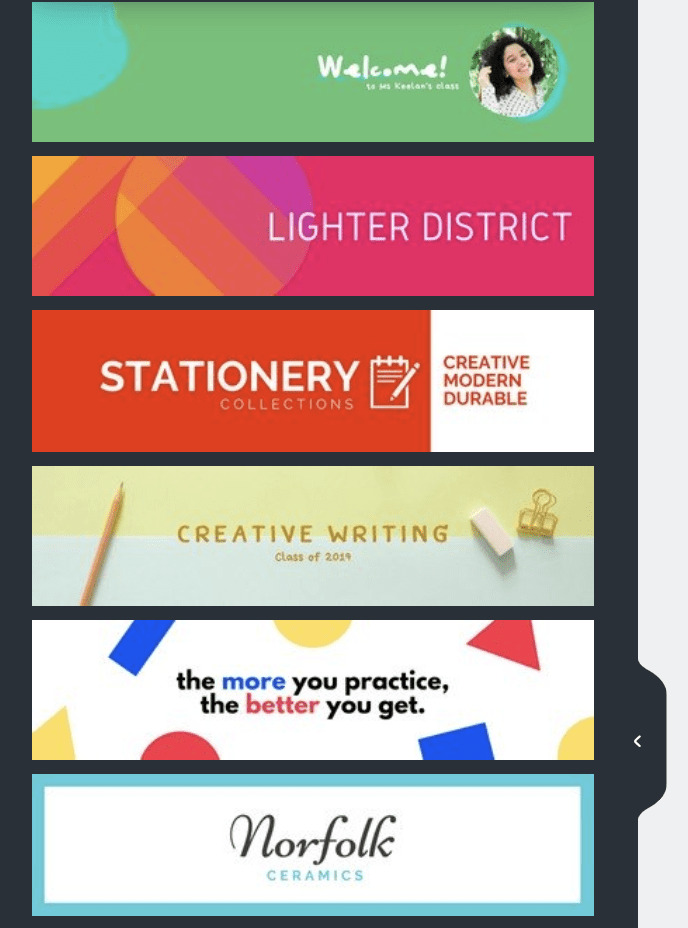 templates in canva