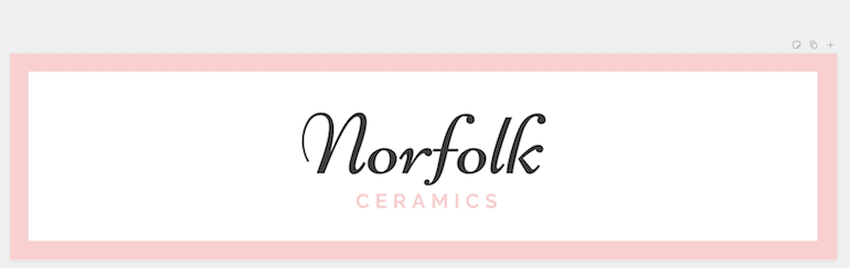 etsy banner with pale pink text that's hard to read