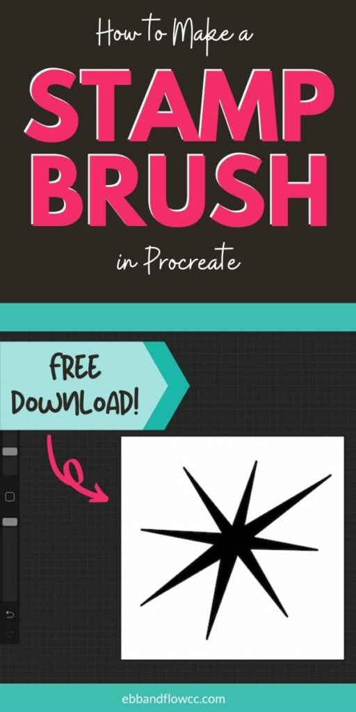 pin image - make stamp brush collage