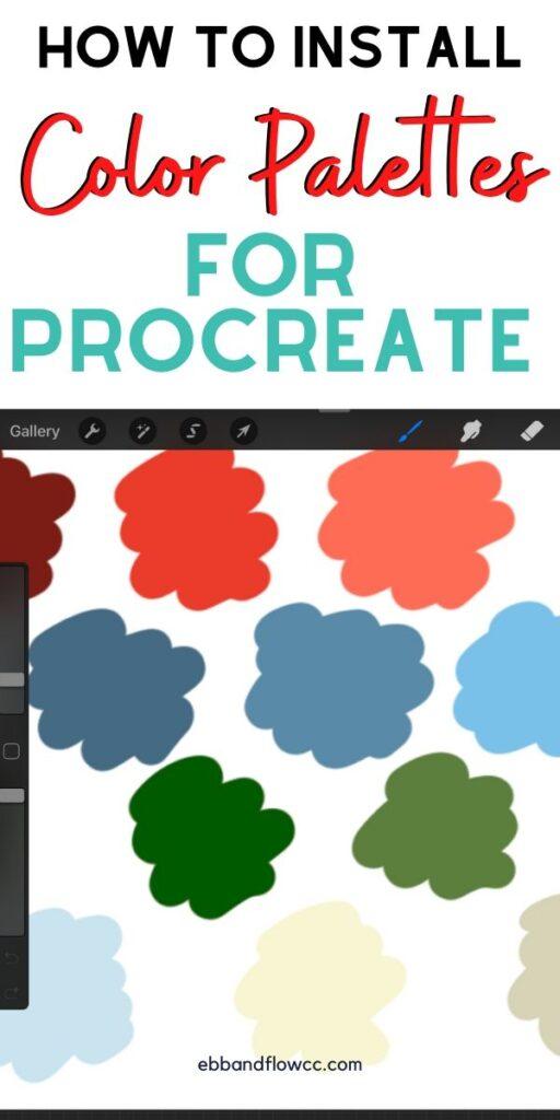 pin image color palette procreate