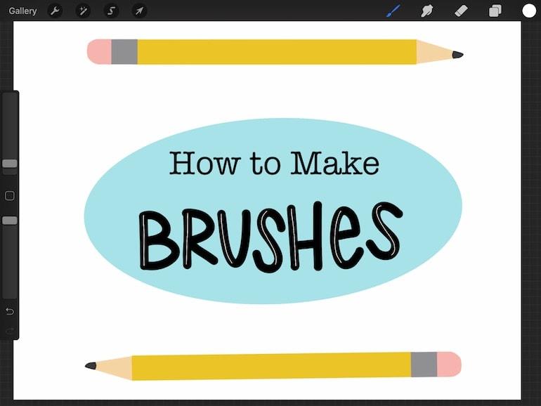 illustration for how to make brushes