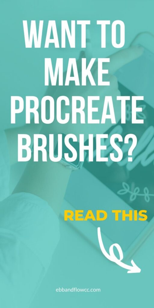pin image - procreate brushes collage