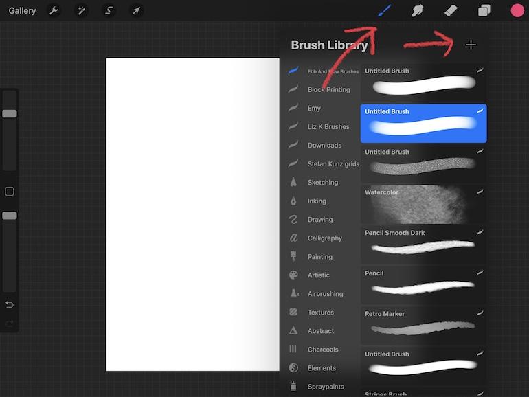 brush studio in procreate 5