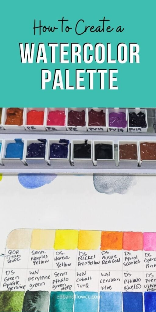 pin image - custom watercolor palette