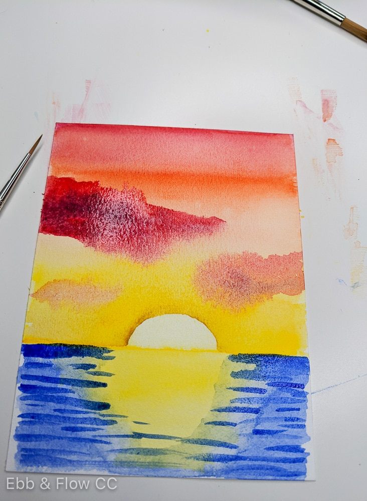 adding waves to water