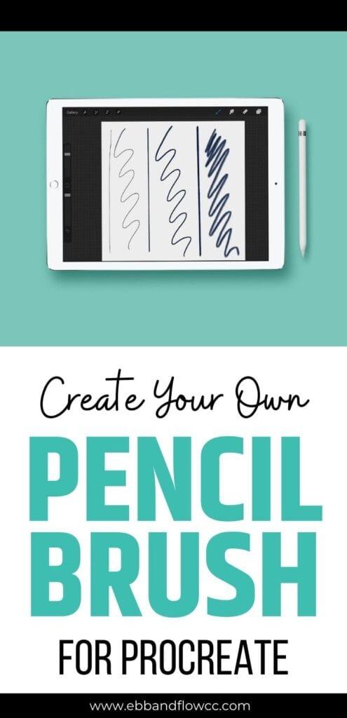 pin image - ipad mockup with pencil demo screenshot