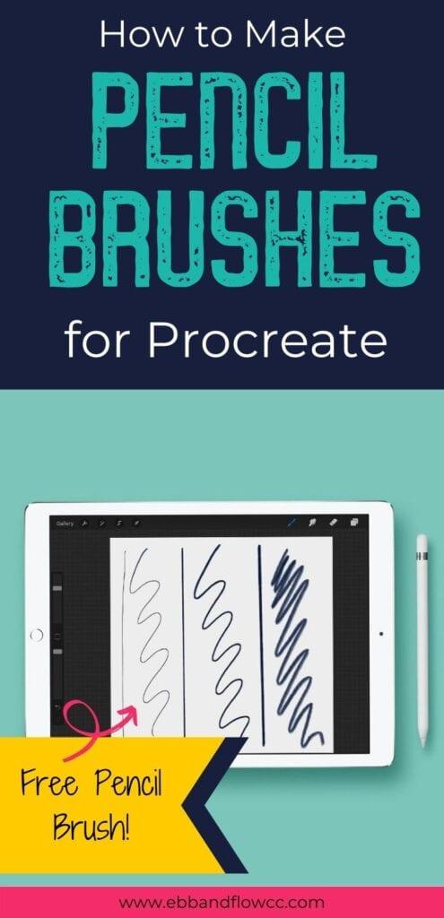 pin image - pencil scribbles on ipad mockup