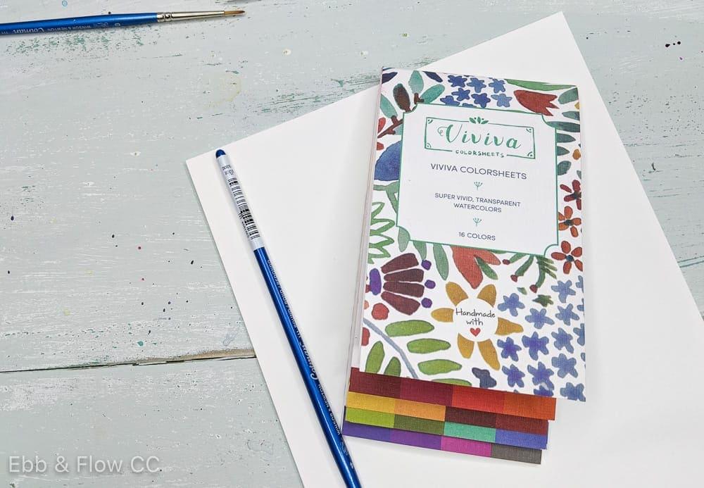 viviva colorsheets and brush