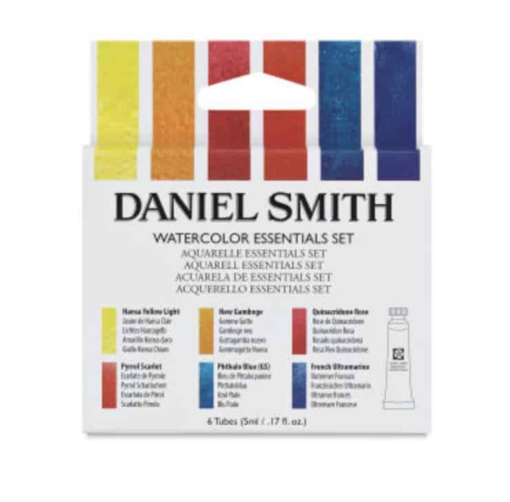 daniel smith essentials watercolor paint