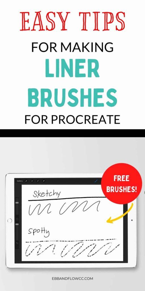 pin image - ipad mockup with drawings and text overlay
