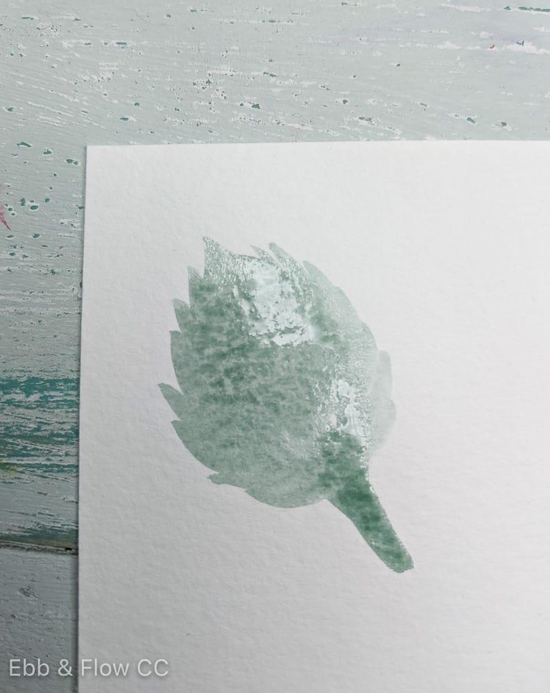 jagged leaf