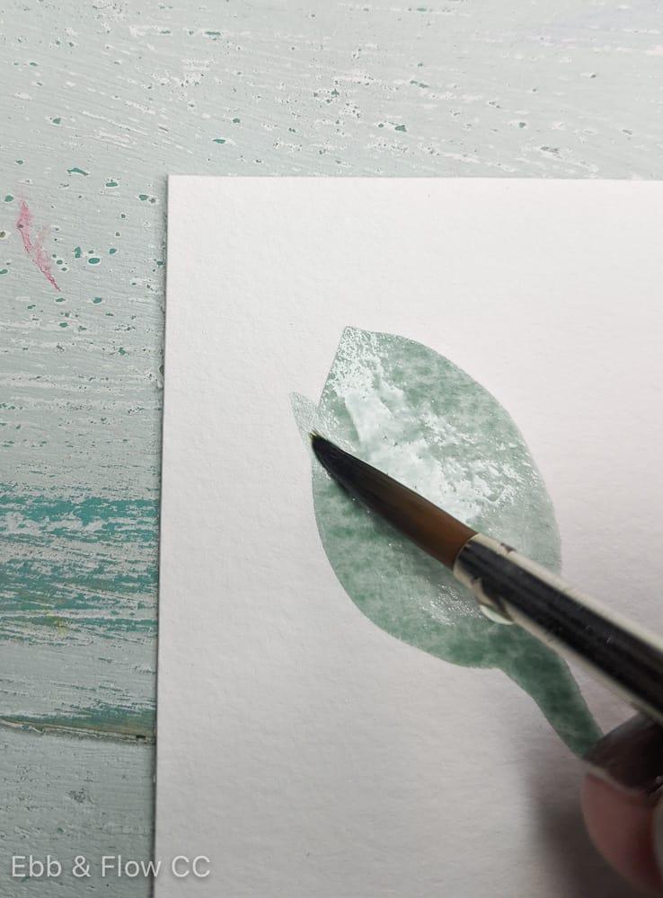 adding jagged edge to leaf