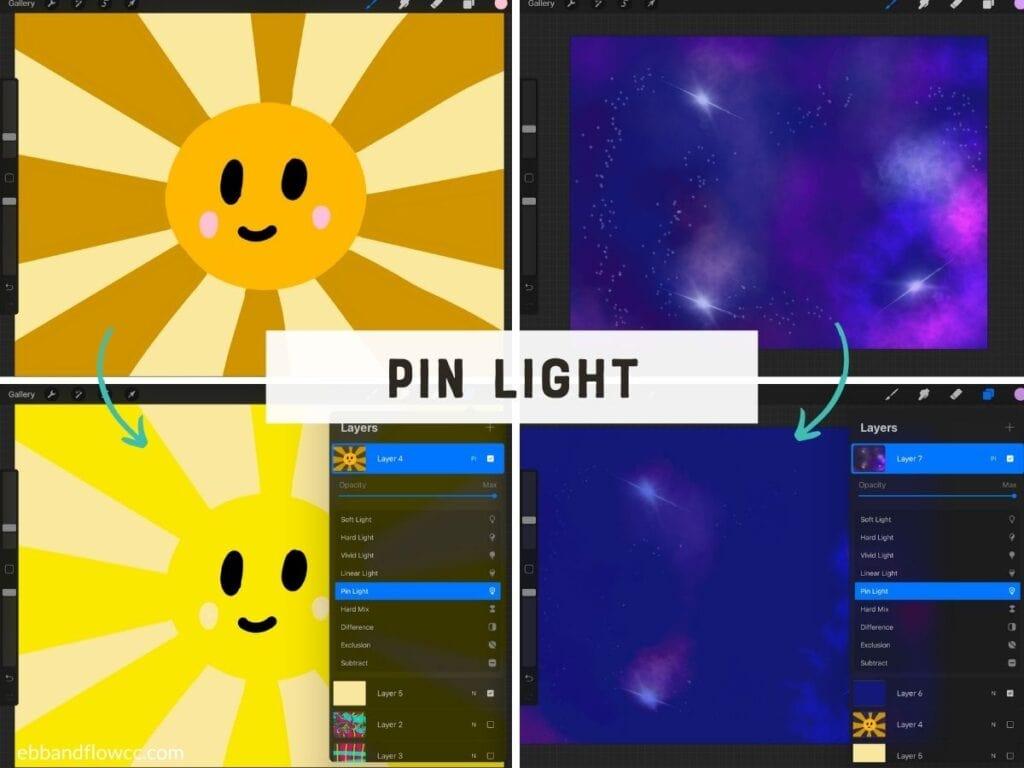 pin light mode on screenshot
