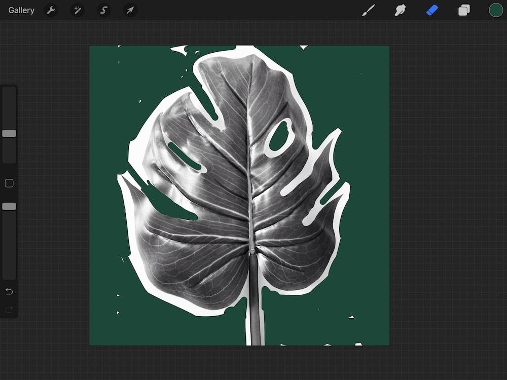 adding colored background while erasing background