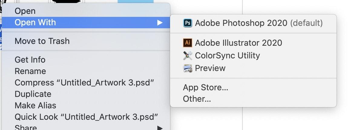 open file in illustrator