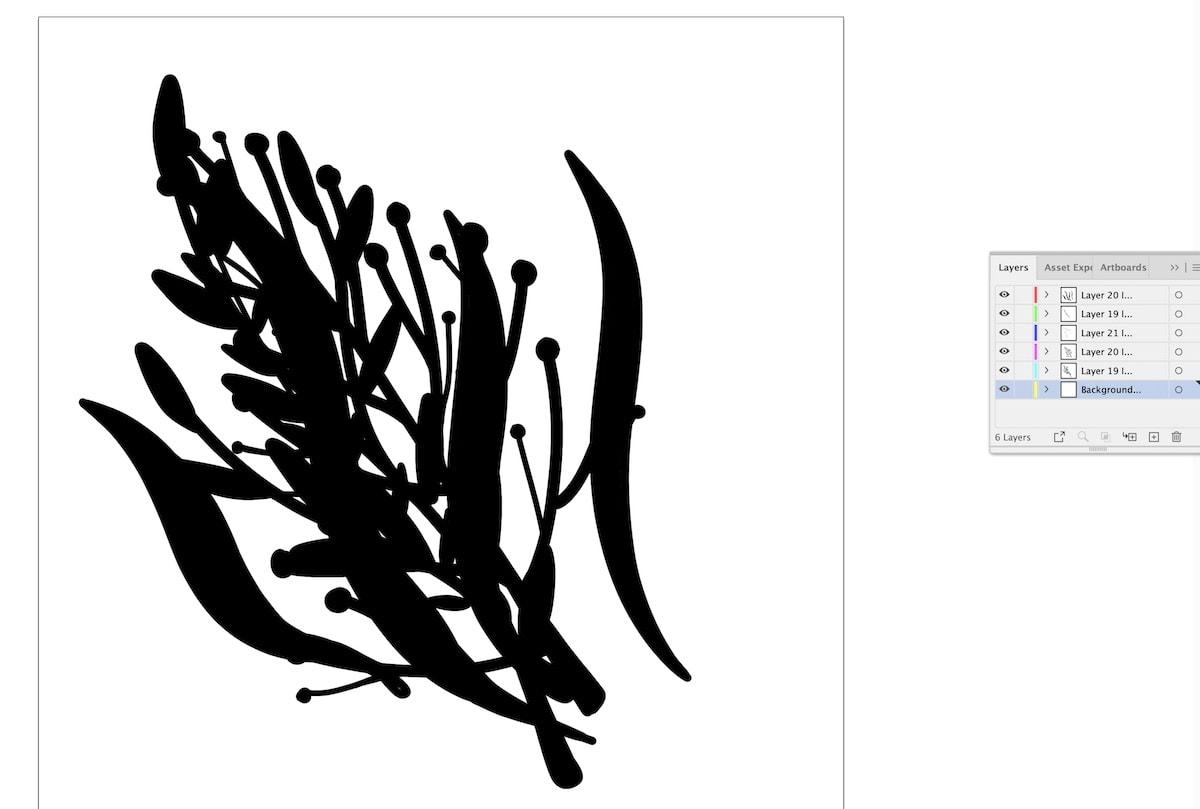 flower file in illustrator