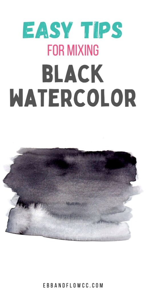 black paint swatch