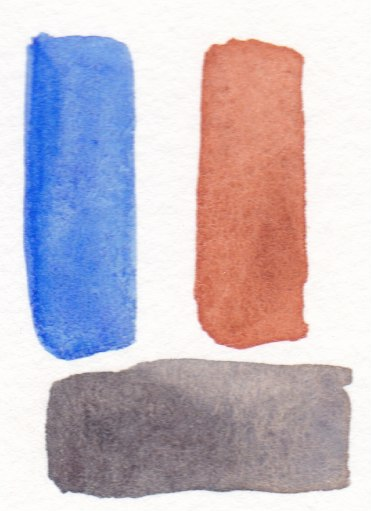 watercolor swatches