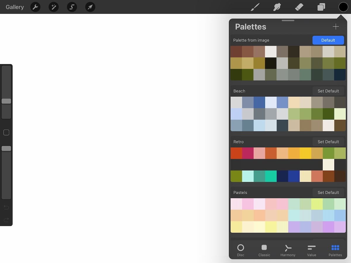 color palette from photo